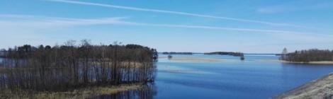 Ympäristöekologiankurssin vierailu Pyhäjärvelle
