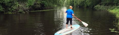Yläneenjoki avautuu uusin silmin kanootista