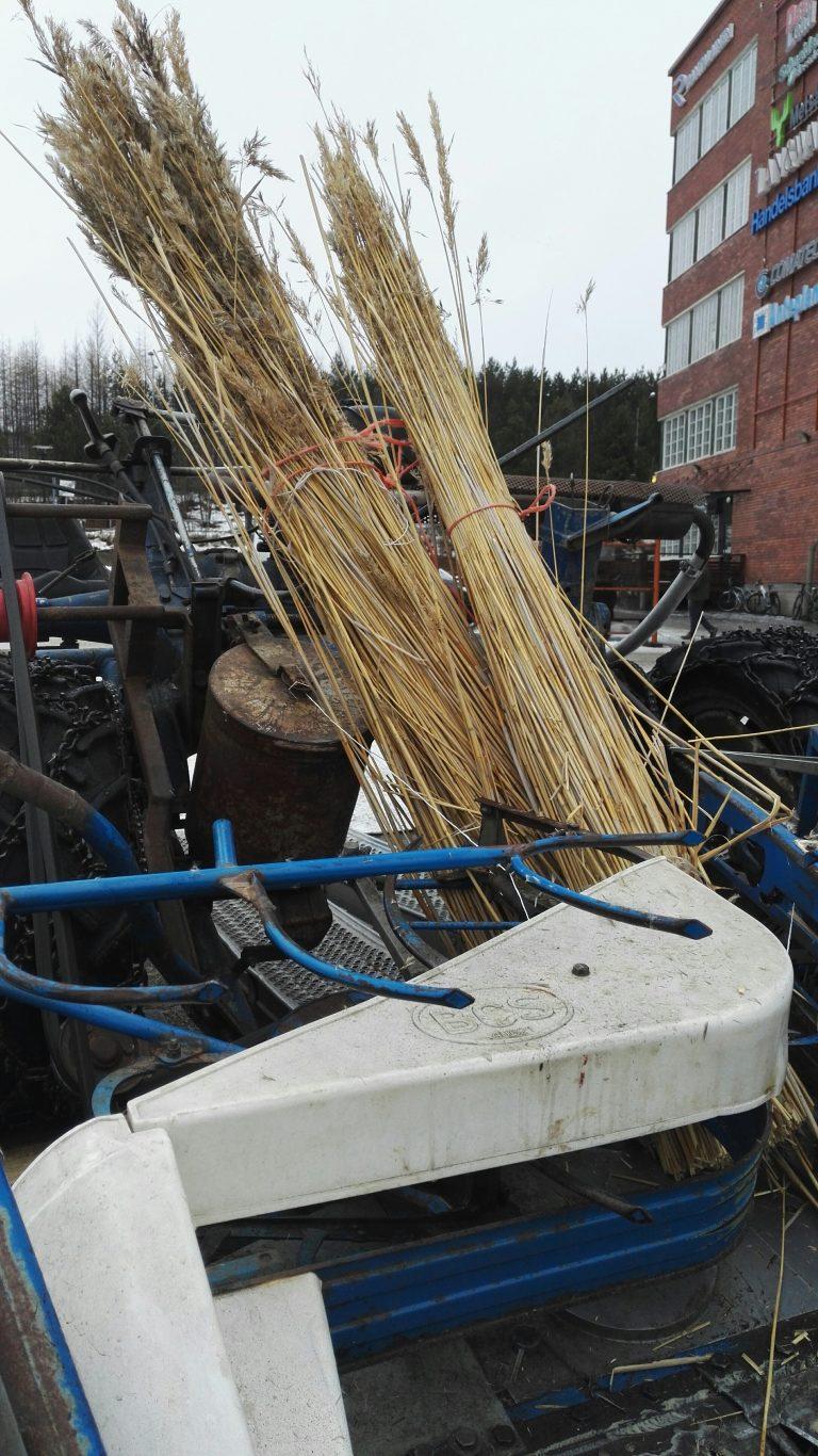 Kuva on tammikuisesta Vesistökunnostusverkoston talviseminaarista, Lahdesta. Seminaarissa keskusteltiin mm. talviaikaisista niitoista.